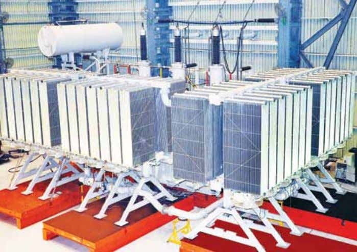 purpose built to do the work of two generator transformers. R ecently, ABB in India manufactured