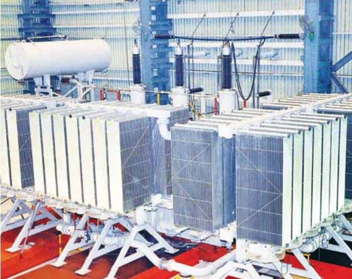 Contents 14 Largest three-phase generator transformer made in India The first generator transformer with two primary