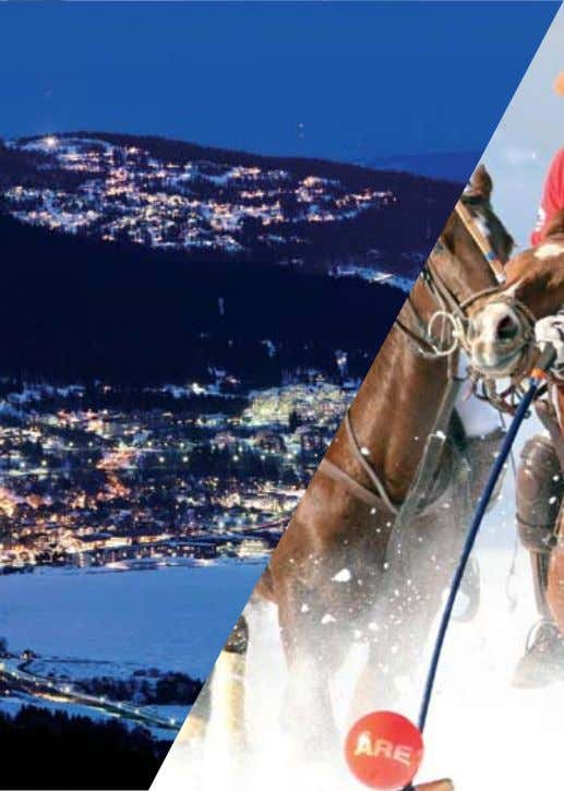 International Sporting Event An ÅRE-CLASS Experience During the first week of March, eight international polo