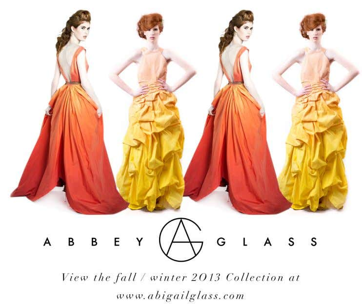 Abbey Glass While storytelling, and science drive her conceptual work, Abbey uses a wide range