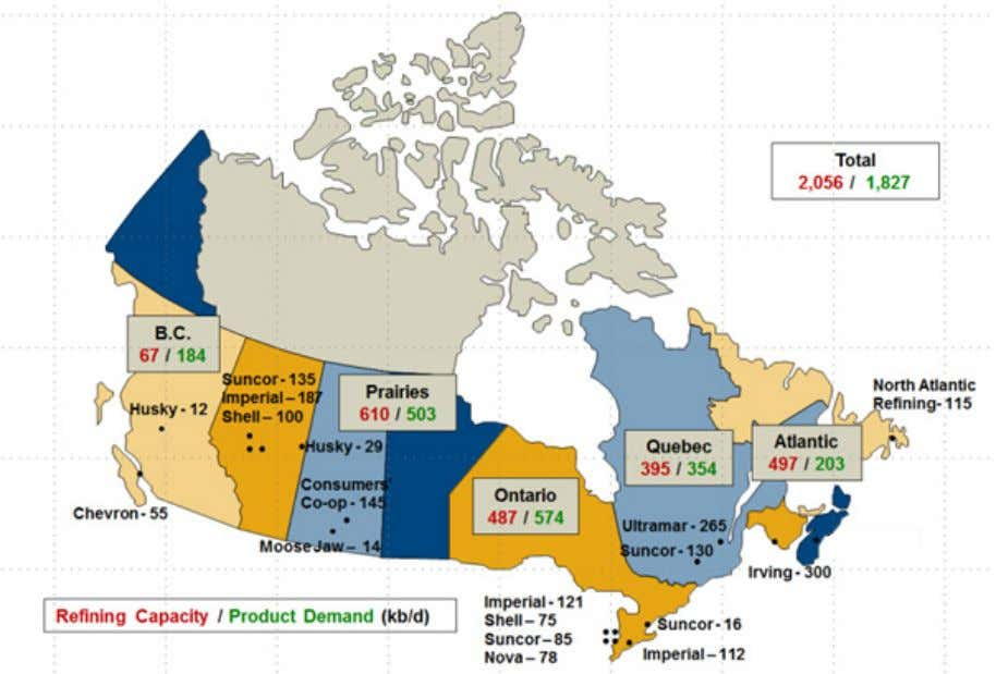 I. Introduction Fuels refining is an integral component of Canada's oil and gas value chain. Refineries