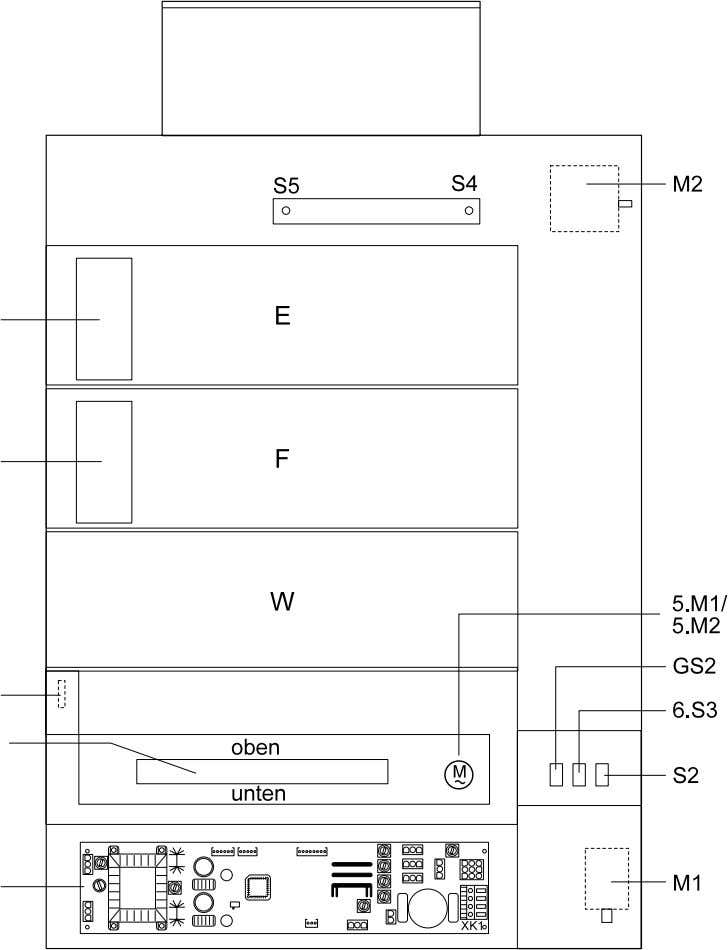 2.4 Block diagram for CP 1000 (Type 9462/205/285/845) Figure 7 - 9 Section 7 / 12