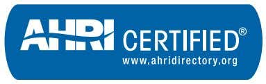 Certificate of Product Ratings AHRI Certified Reference Number: 8048961 Product: Forced Circulation Air-Cooling and