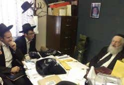 "whether koshering a kitchen or understanding davar charif Rabbi Heinemann tests the yungeleit for semicha ""It"