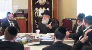 "experience.""- Rabbi Avi Shafran, Agu- dath Israel ""The yungeleit have learned halacha l'maiseh and have"