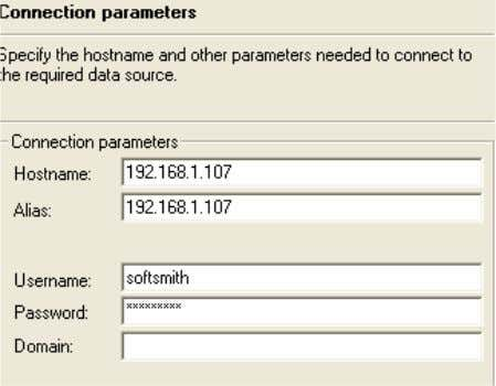 7. 8. 9. 10. 11. 12. Give the connection Parameter Select the parameter which we like