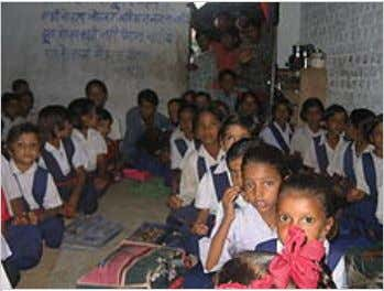 A primary school in a village in Rohith's Backyard.