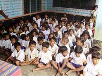 Elementary School in Chittoor. This school is part of the 'Paathshaala' project. The school currently