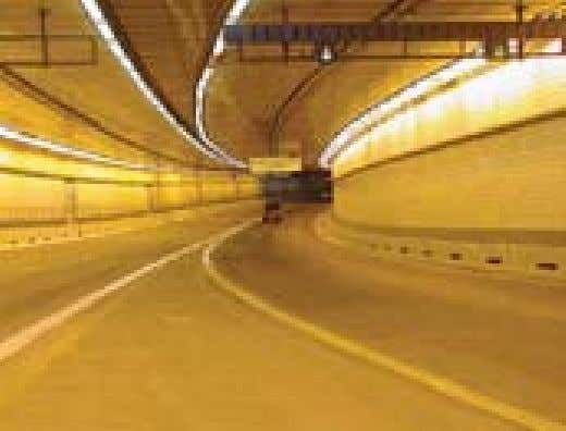 Tunnel under the harbor—was finished in December 1995. Ted Williams Tunnel The concrete mixes used on