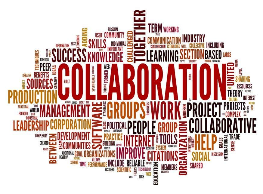 not the collaboration that matters but the ways in which every collaboration is enlivened into a