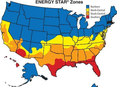 ENERGY STAR ® Zones