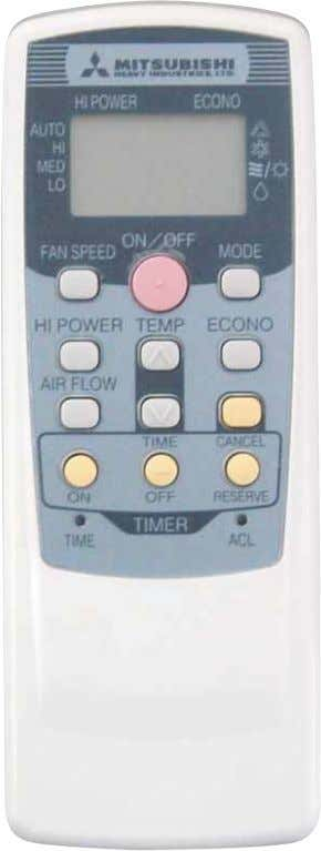 INDOOR UNIT Models SRK28HD, SRK40HD OUTDOOR UNIT Model SRC28HD Model SRC40HD REMOTE CONTROLLER