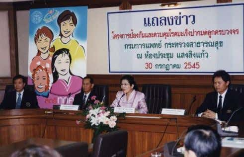 Screening National Policy  Population based, organized  All Women in Thailand, Ages: 35,40,45,50,55 and 60