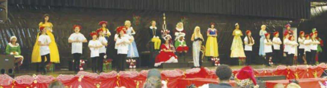 of the Christmas season and got the crowd in a holiday spirit. After the show,