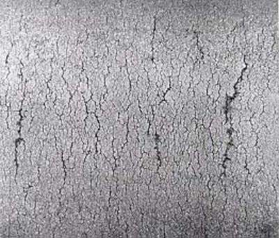 THERMAL FATIGUE • Numerous cracks and crazing, oxide wedge • Caused by: – Excessive cyclic thermal