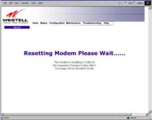 User Guide Westell Router (Models 6000, 6100) If you clicked on OK in the preceding pop-up