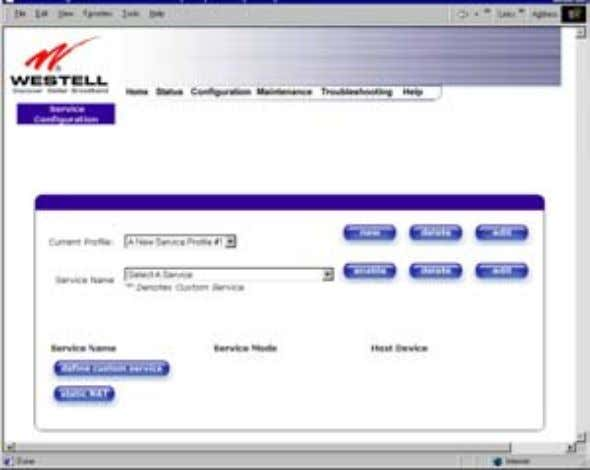 User Guide Westell Router (Models 6000, 6100) If you clicked on OK , the following screen