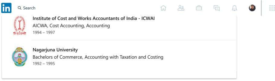 Education Search Institute of Cost and Works Accountants of India - ICWAI AICWA, Cost Accounting,