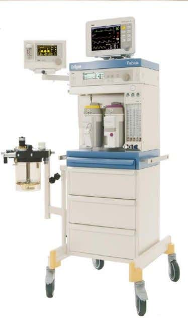 operation of gas anesthesia or analgesia equipment. • Used at 15 to 20 Kpa. • Used