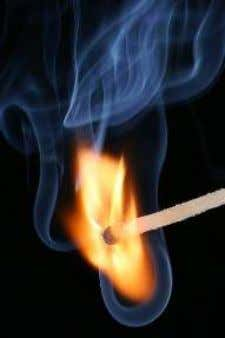 and measurable evidence that is critically evaluated. Figure 3: The combustion of this match is an