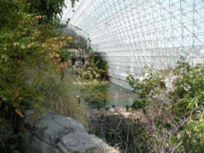 NOAA - Air Resources Laboratory, License: Public Domain) Figure 12: Biosphere 2 is an example of