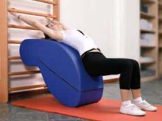 and relaxation exercises for rachialgia. Moreover this apparatus can be used as a bench to perform