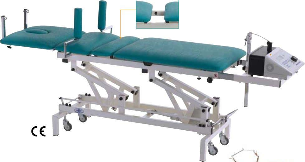 Betatrac - Therapy and Traction couch XW001.W BETATrAC - E (electric height adjustment) Examination, treatment and