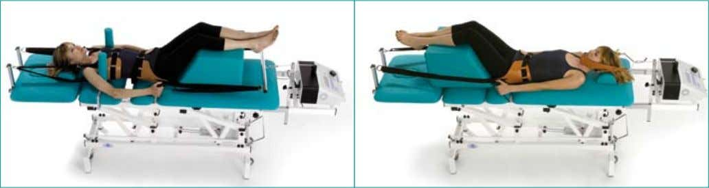 Betatrac - Therapy and Traction couch Made in Italy Lumbar traction application Cervical traction application 11