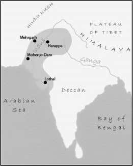 country called Pakistan. Pakistan was once part of India. Civilizations in ancient India began near the