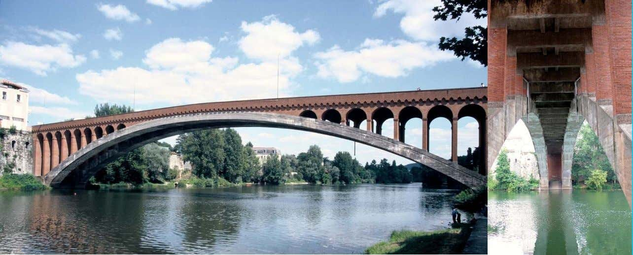 a Villeneuve ‐ sur ‐ Lot (Francia) (E. Freyssinet) coordinate 44.404907, 0.705714 Ponte ad arco in