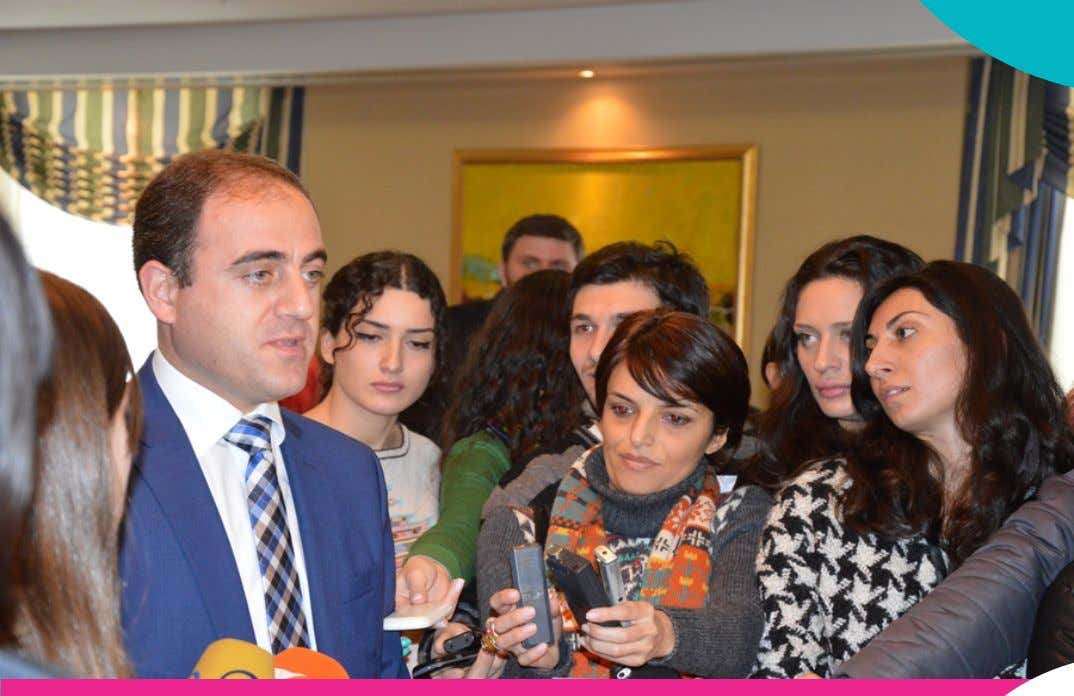 19 (39) JANUARY 2014 MINISTER NARMANIA MET WITH R-CSN MEMBERS AND REGIONAL MEDIA REPRESENTATIVES .9 NGOS