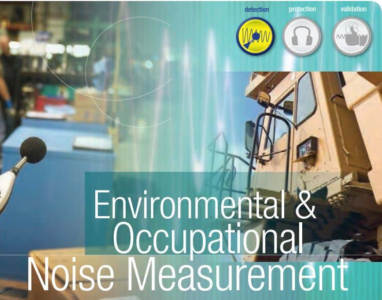 detection protection validation Occupational Noise Measurement