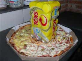 Why SAP and ABAP is so great : ABAP as a pizza (AaaP) https://de.wikipedia.org/wiki/Pizza