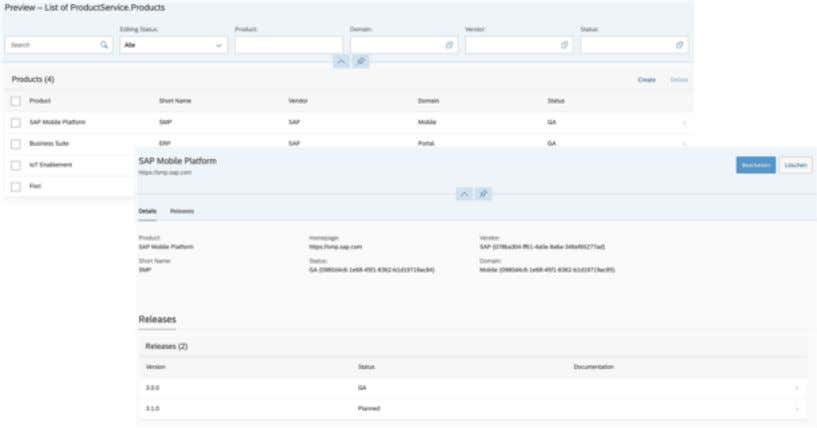 What we are going to develop OData Service Fiori Elements App BridgingIT GmbH | 3. HANA