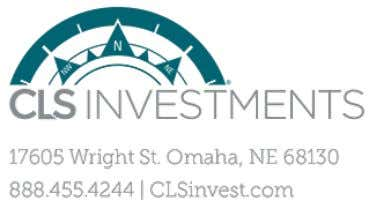 House Account CLS House Account (402) 493-3313 02/18/2016 CLS Investments, LLC is independent of your advisor's