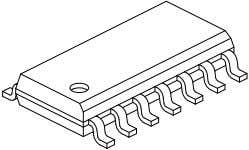 MCP2120 14-Lead Plastic Small Outline (SL) – Narrow, 3.90 mm Body [SOIC] Note: For the most