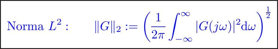 1 ∞ 1 2 Norma L 2 : G 2 := 2π −∞ | G(