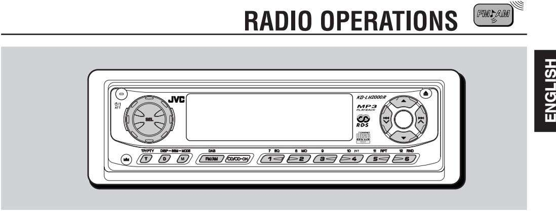 RADIO OPERATIONS 2000 D ENGLISH