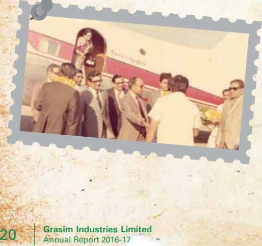 Grasim Industries Limited 20 Annual Report 2016-17