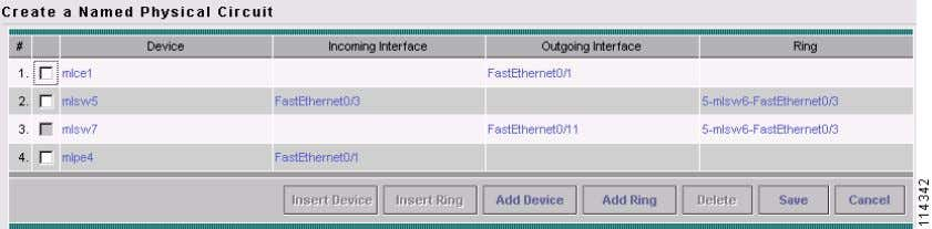2 Setting up the ISC Service Figure 2-21 Ring Complete S t e p 2 5
