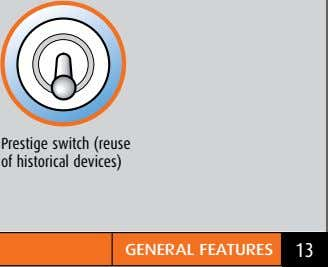 Prestige switch (reuse of historical devices) GeNeraL featureS 13