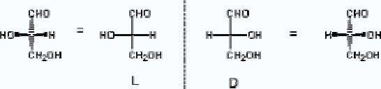 All other molecules are assigned the D- or L- configuration if the chiral centre can