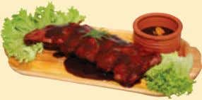 Costițe proaspete marinate la cuptor • Marinated fresh baked ribs • Membrures fraiscuites dans le