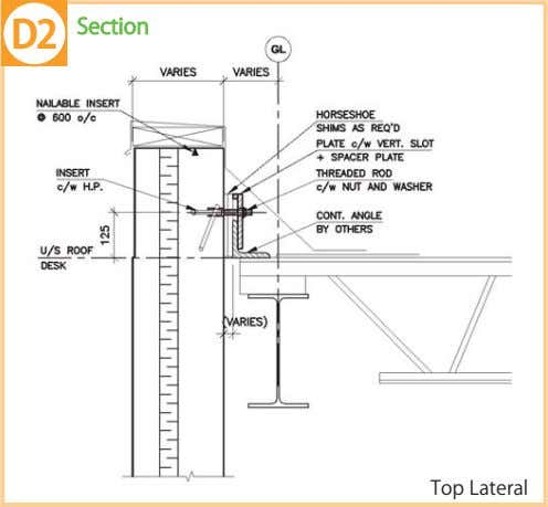 Section Top Lateral