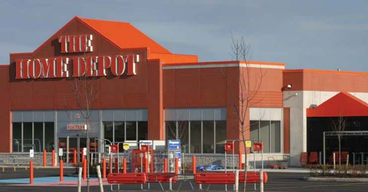 suitable for food processing and other clean occupancies. Home Depot Store § Fredericton NB The facade
