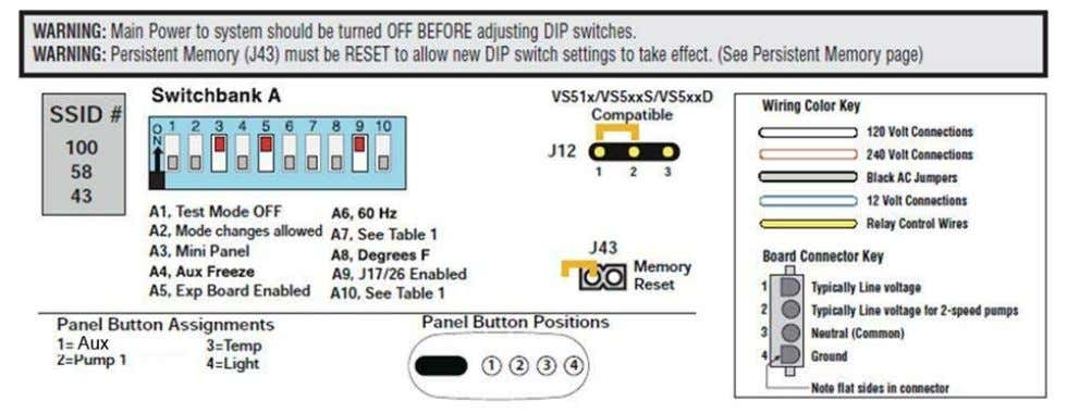 Figure 11 – Board Diagram for LX 4000 and LX/DX 5000 Models Single-phase 240V Domestic