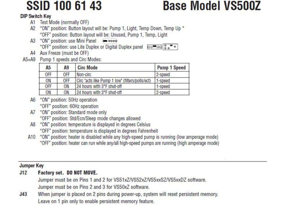 Figure 11 – Board Diagram for VS500z Single-phase 240V Domestic version Page 21 For HELP, call