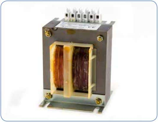 Single Phase Transformer General information DANTRAFO Group offer a comprehensive range of control transformers which can