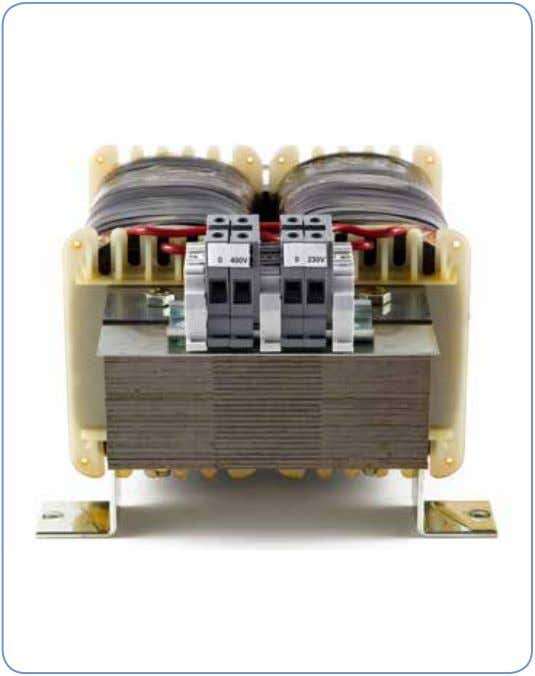Single Phase UI Transformer General information DANTRAFO Group offer a comprehensive range of UI control transformers