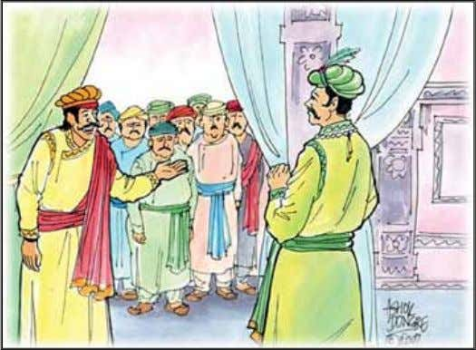 This made the courtier very angry and he said that the king praised Birbal unjustly and